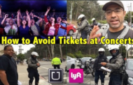 Uber-Lyft Drivers How to Avoid Tickets / Citations at Concerts & Major Events