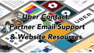 uber contact driver partner support customer service website resources