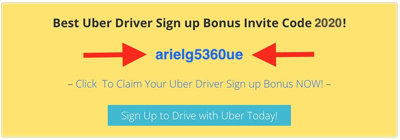 Uber driver invite code promo